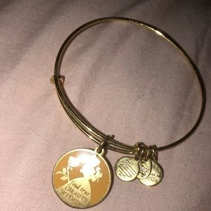 gold disney belle alex and ani